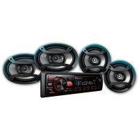 Combo Pionner Radio y Parlantes MXT-2969BT al mejor precio solo en loi