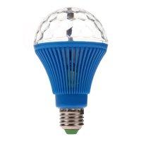 Lámpara de colores giratoria LED de 360 grados Azul al mejor precio solo en loi