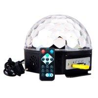 Media Bola Audiorítmica con pen drive y control 220v al mejor precio solo en loi
