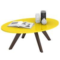 Mesa ratona de 4 patas en Amarillo al mejor precio solo en loi
