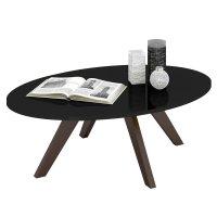 Mesa ratona de 4 patas en Negro al mejor precio solo en loi