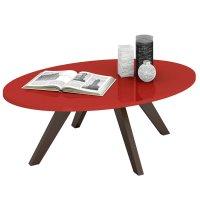 Mesa ratona de 4 patas en Rojo al mejor precio solo en loi