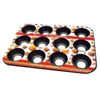 Molde antiadherente desmontable para 12 Muffins al mejor precio solo en loi