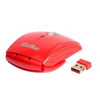 Mouse inalámbrico óptico Kolke KM-100 Rojo al mejor precio solo en loi