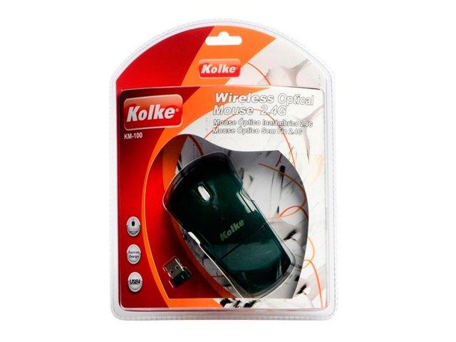 Mouse inalámbrico óptico Kolke KM-100 Negro al mejor precio solo en loi