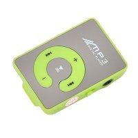Reproductor MP3 con ranura Micro SD y Auriculares-Verde al mejor precio solo en loi