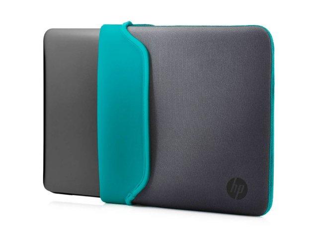 Notebook HP 15,6 AMD Win 10 con mouse y estuche Teal al mejor precio solo en loi