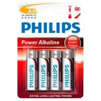 Pilas Alcalinas AA Philips Pack x4 al mejor precio solo en LOI