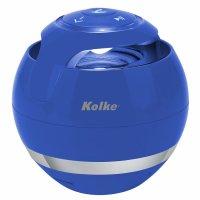 Parlante Portátil Compacto Bluetooth Kolke EVA Azul al mejor precio solo en loi