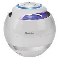 Parlante Portátil Compacto Bluetooth Kolke EVA Blanco al mejor precio solo en loi