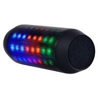 Parlante Portátil Bluetooth Big Rainbow con luces LED al mejor precio solo en LOI
