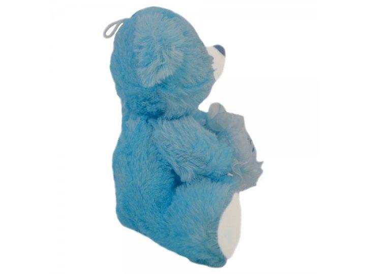 Peluche de 23cm con corazón Celeste YG16061-1