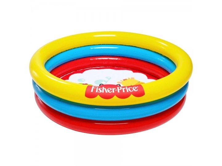 Piscina 3 aros inflable Fisher Price Bestway 88 litros al mejor precio solo en loi