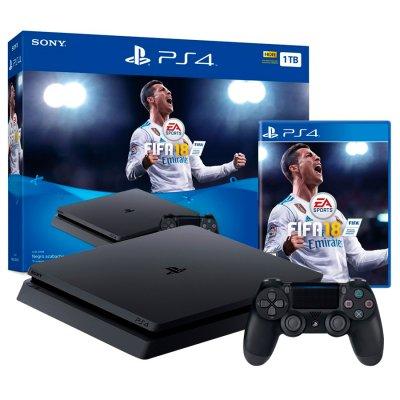 PlayStation 4 PS4 Slim 1TB + FIFA 18 al mejor precio solo en loi