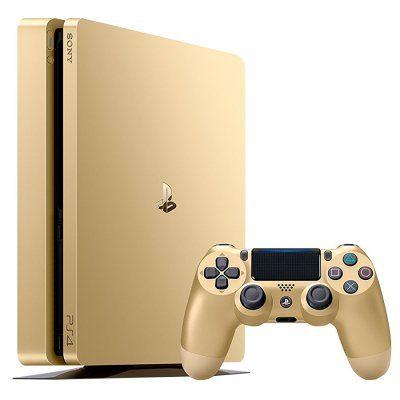 PlayStation 4 PS4 Slim 1TB Gold Nuevo al mejor precio solo en loi