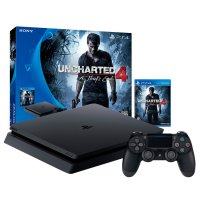 PlayStation 4 PS4 Slim Uncharted 4 500Gb al mejor precio solo en loi