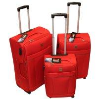 Set de 3 Valijas Expandibles Swiss Armor - Rojas al mejor precio solo en LOI