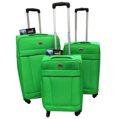 Set de 3 Valijas Expandibles 4 Ruedas Swiss Armor Verde al mejor precio solo en LOI