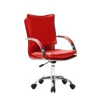 Silla Ejecutiva de Diseño Italiano Empoli H1 - Roja al mejor precio solo en LOI