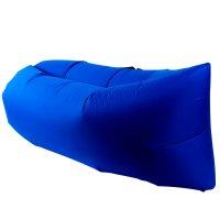 Sillón Inflable Lazy Bag para Interior o Ext - Azul al mejor precio solo en LOI
