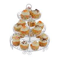 Exhibidor de 3 niveles para Cupcakes al mejor precio solo en loi