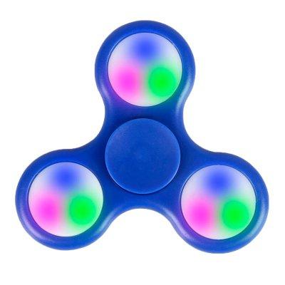 Fidget Spinner con Luces LED Color Azul al mejor precio solo en LOI