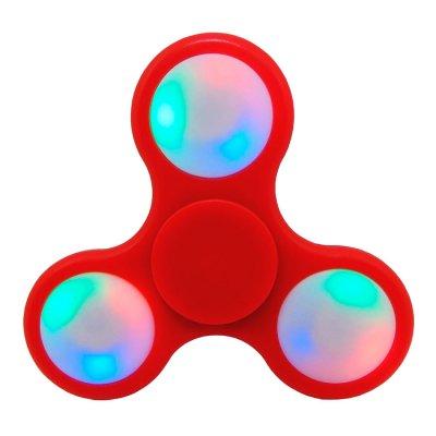 Fidget Spinner con Luces LED Color Rojo al mejor precio solo en LOI