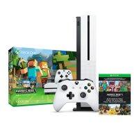Microsoft XBOX ONE S de 1TB + Juego Minecraft al mejor juego solo en LOI