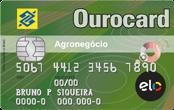 Cartão de Crédito Ourocard Agronegócio Banco do Brasil Elo