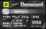 Cartão de Crédito Ourocard Agronegócio Banco do Brasil Visa Infinite