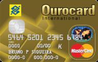 Cartão de Crédito Ourocard Banco do Brasil MasterCard International