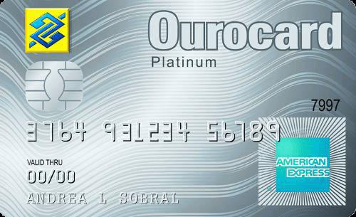 Cartão de Crédito Ourocard Banco do Brasil American Express® Platinum