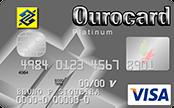 Cartão de Crédito Ourocard Banco do Brasil Visa Platinum