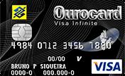Cartão de Crédito Ourocard Banco do Brasil Visa Infinite