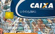 Cartão de Crédito Caixa Universitário MasterCard Internacional