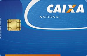 Cartão de Crédito Caixa MasterCard Nacional