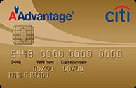 Cartão de Crédito Citi / AAdvantage® MasterCard Gold