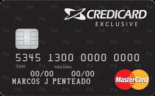 Cartão de Crédito Credicard Exclusive MasterCard Gold