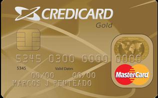 Cartão de Crédito Credicard MasterCard Gold