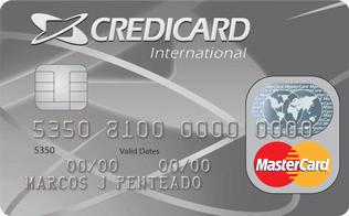 Cartão de Crédito Credicard MasterCard Internacional