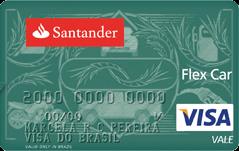 Cartão Santander Flex Car Visa Vale