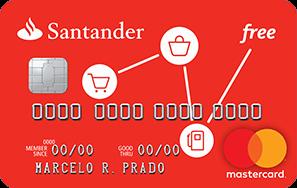 Cartão de Crédito Santander Free MasterCard®