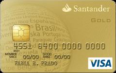 Cartão de Crédito Santander Visa Gold