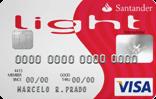 Cartão de Crédito Santander Light Visa