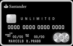 Cartão de Crédito Santander Unlimited MasterCard Black