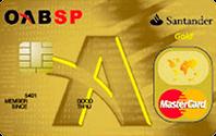 Cartão de Crédito Santander OAB - SP MasterCard