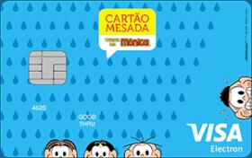 Cartão Brasil Pré-Pagos Mesada Turma da Mônica Visa Internacional