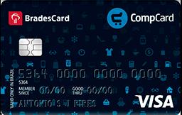 Cartão de Crédito Compcard Visa Nacional