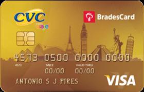 Cartão CVC Visa Gold