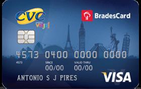 Cartão CVC Visa Internacional